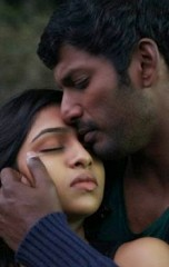 That hot steaming kiss of Naan Sigappu Manithan, Naan Sigappu Manidhan, Vishal