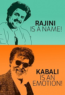 Rajini is a name! Kabali is an emotion!