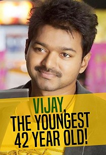 Vijay, the youngest 42 year old!