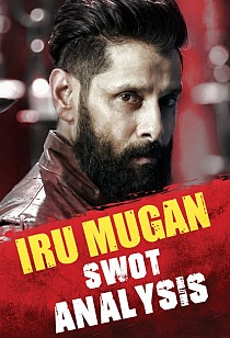 SWOT analysis of Chiyaan Vikram's Iru Mugan