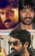 What connects Vikram, Dhanush and Vijay Sethupathi