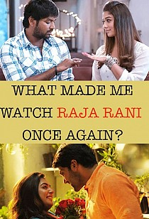 Why Atlee's Raja Rani is so close to heart