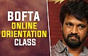 Director ‪‎Cheran‬ teaches Direction at ‪‎BOFTA‬ Online Orientation Session