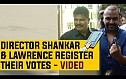 Director Shankar & Lawrence register their votes