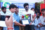 Aadhi Celebrates his birthday By Cleaning Beach