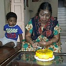 Achi Manorama Celebrates 72nd Birthday