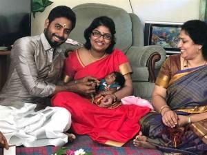 Actor Aari's Daughter Naming Ceremony