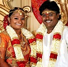 Actor Black Pandi Wedding