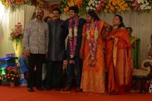 Actor Nizhalgal Ravi Son Wedding Reception