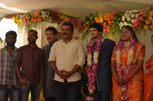 Actor Nizhalgal Ravi Son Wedding Reception