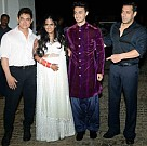 Actor Salman Khan's little sister Arpita's wedding celebrations