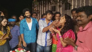 Actor Sathish Birthday Celebrations With Pakka Movie Team