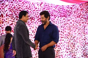 Actor Vikram Daughter's Reception