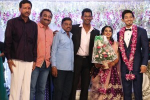 Actor Vishal's sister Aishwarya marriage