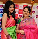 Actress Sakshi Agarwal at Palam Silks