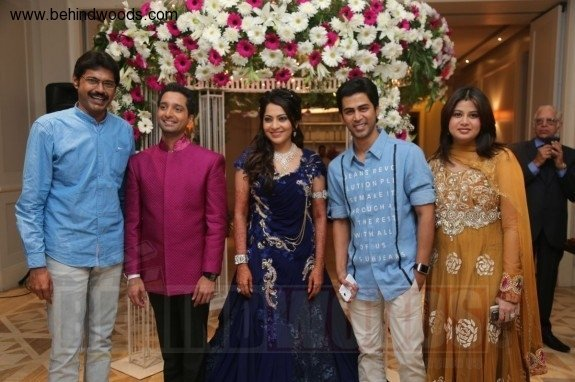 Anchor Ramya Aparajith Wedding Reception Day