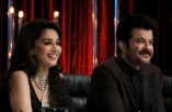 Anil Kapoor Irrfan Khan Ranbir Kapoor on sets of Jhalak Dikhhla Jaa