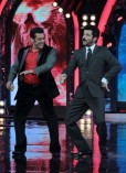 Anil Kapoor on the sets of Bigg Boss 7