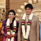 Anuja Iyer Wedding Reception