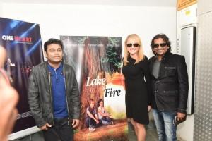 AR RAHMAN LAUNCHES 'LAKE OF FIRE' AUDIO - PHOTOS