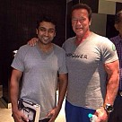Arnold Schwarzenegger meets Indian Celebrities
