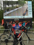 Arya wins the medal at the Vätternrundan cycling race