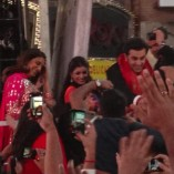 Besharam Promotion at Times Square
