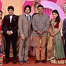 Bharath's sister Preethi's Wedding Reception
