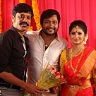 BOBBY SIMHA AND RESHMI MENON ENGAGEMENT
