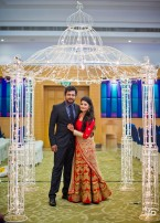Bobby Simha - Reshmi Menon Wedding Reception