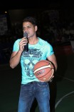 Celebrities at State Level Basketball Touarnament