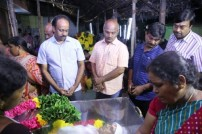 Celebrities Pay Tribute to Santhanam's Father Neelamegam
