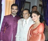 Celebs At Ahana Deol And Vaibhav Vohra Sangeet Ceremony