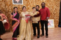 Celebs at baby Syamantakamani Ashvita's birthday
