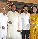 Celebs at K Balachander's Grand Daughter Wedding Reception