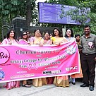 Chennai Turns Pink and Ethiraj College's Pink Ribbon Walk