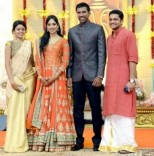 Cricketer Lakshmipathy Balaji Wedding Reception