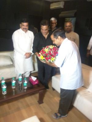 Delhi CM Arvind Kejriwal Meets Kamal Haasan
