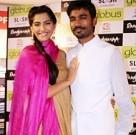 Dhanush and Sonam at Globus