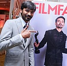 Dhanush at Film Fare Team Meet