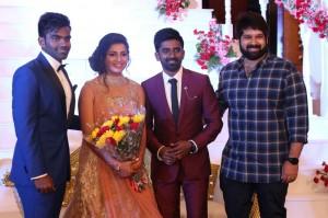 Dharan Kumar And Deekshitha Wedding Reception