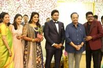 Director KS Ravikumar Daughter Marriage Reception