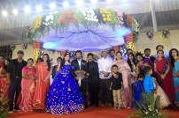 Director R. Pandiarajan's Son Prithvirajan Weds Akshaya Wedding Reception