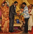 Director Senthilnathan Son Wedding Reception