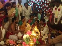 Director SU Arun Kumar's wedding Photos
