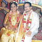 Director Vasu Bhaskar - Kavitha Wedding