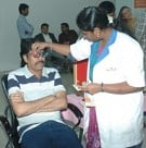 Directors Union at eye check up