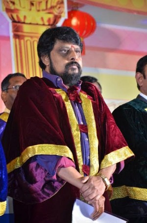Doctorate to Actor Vijayakumar and Director Vikraman