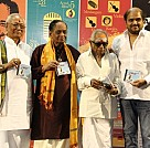 Dr M Balamuralikrishna Felicitated at the launch of Celestial Treasure Album