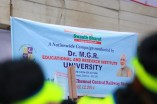 Volunteers of Dr. MGR University, Maduravoyal in Swachch Bharath 2014 Campaign